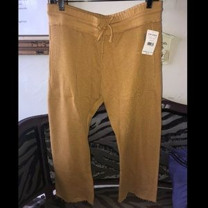 Free People Movement Reyes Cropped Joggers SzM NWT